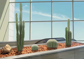 CACTUS TWO SIZES H 80 and 150 cm OUTDOOR